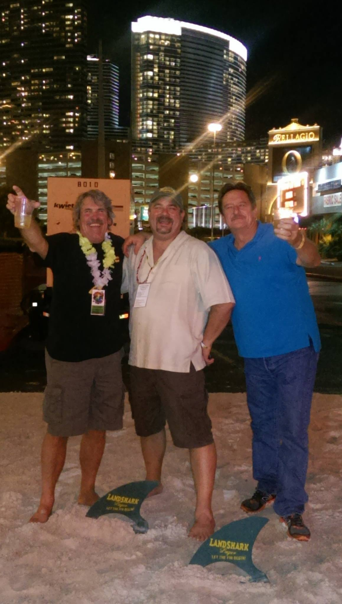 With Tom Campbell and Steve Sims in Vegas!
