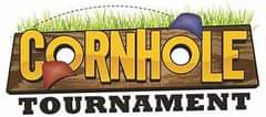 May be an image of text that says 'CORNHOLE TOURNAMENT'